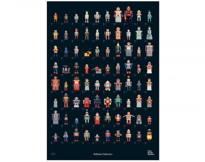 Póster R.F. Robot Collection