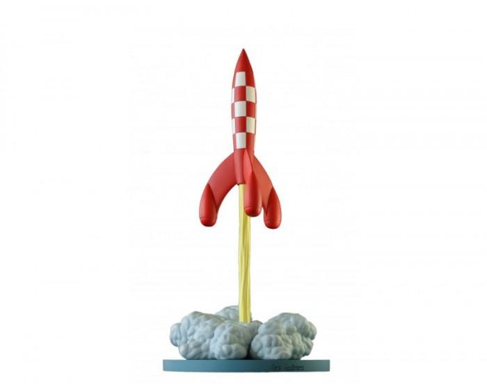 Cohete en despegue