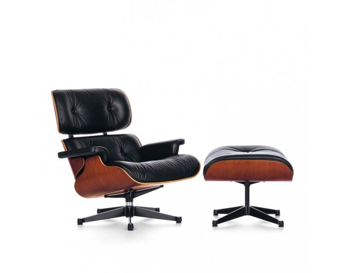 Lounge Chair & Ottoman (dimensiones clásicas)