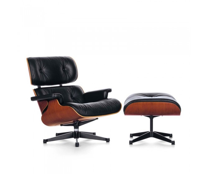 Lounge Chair & Ottoman (dimensiones clásicas)
