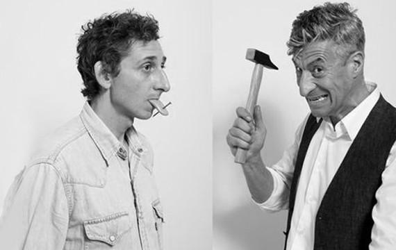 Maurizio Cattelan y Pierpaolo Ferrari -Toiletpaper-